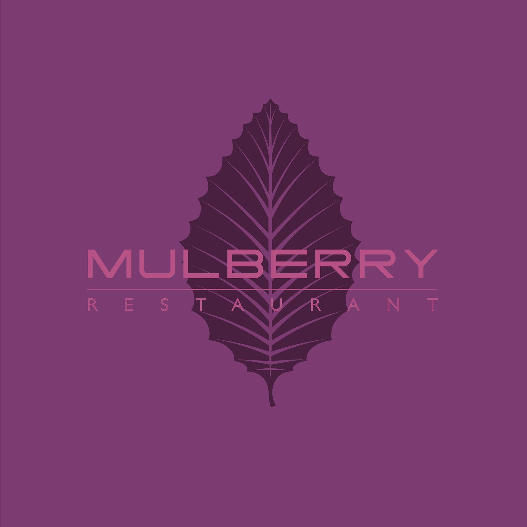 TripleH Branding Mulberry restaurant Logo