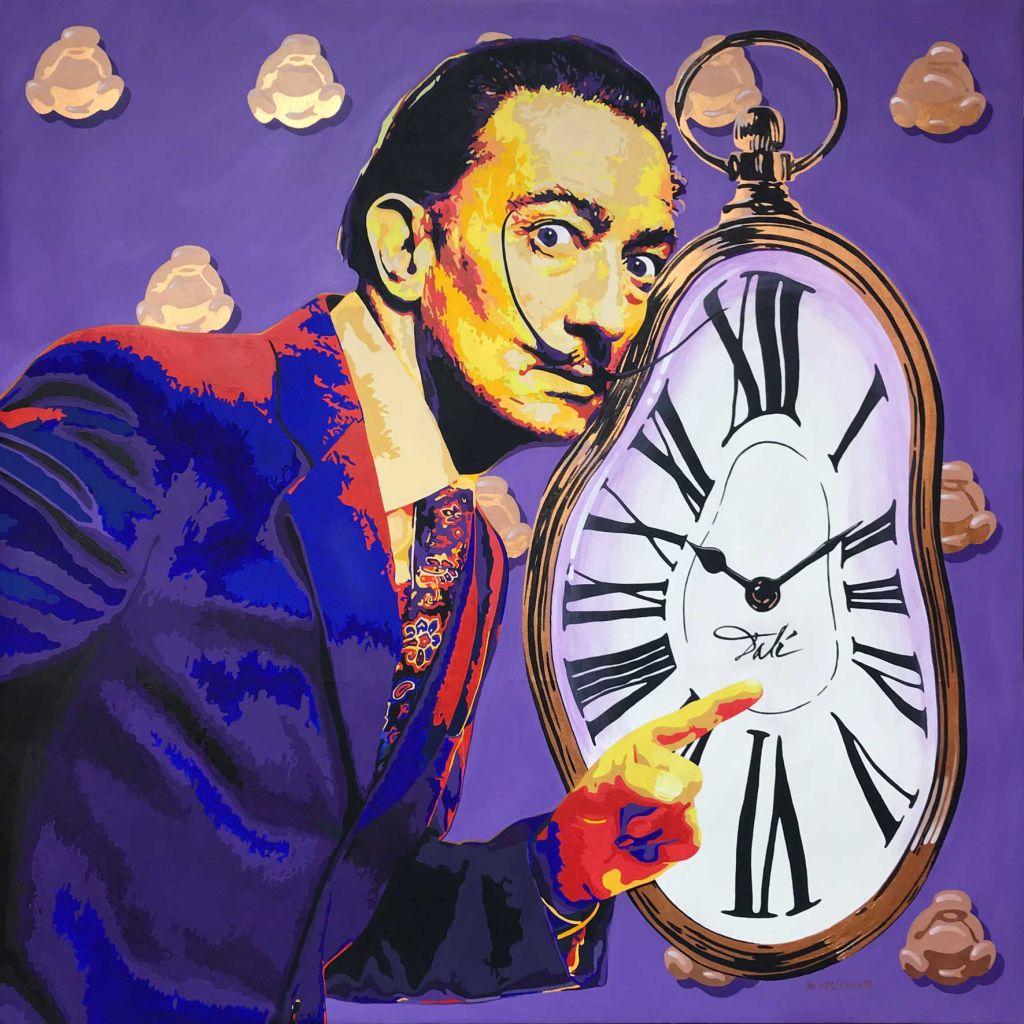 TripleH Painting Salvador Dali