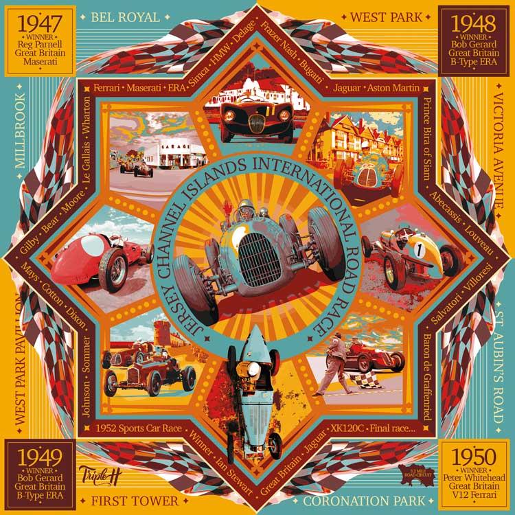 TripleH Limited Edition Print Jersey International Road Race