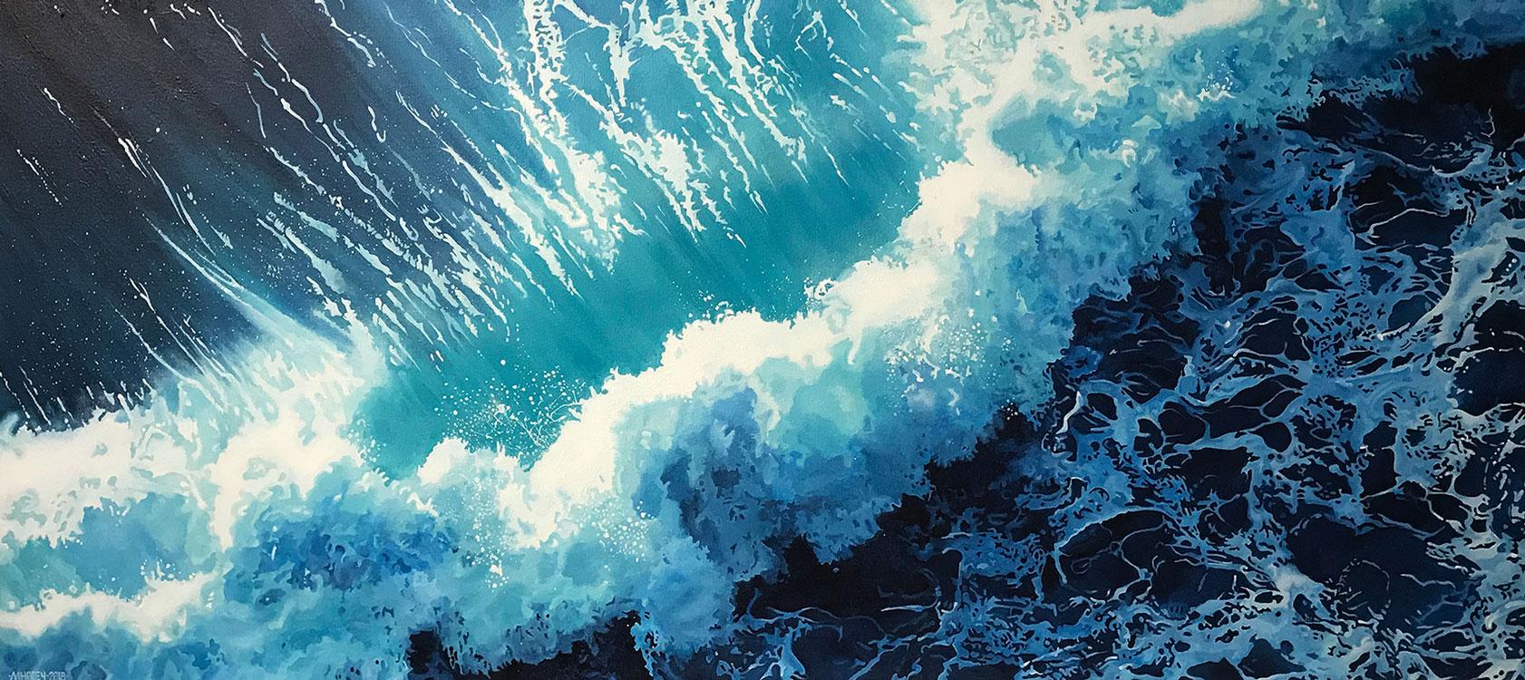 TripleH Painting Crashing Wave