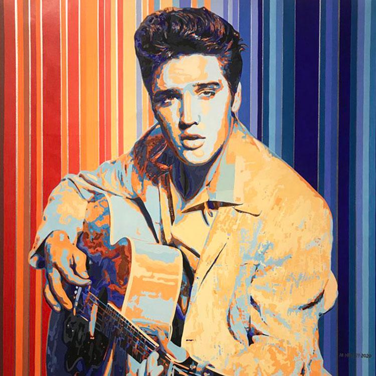 TripleH Painting Elvis