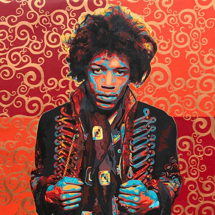 TripleH Painting Hendrix