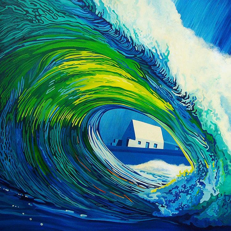 TripleH Painting Waves 1